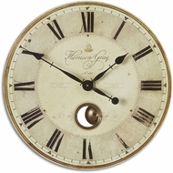 Uttermost 06032 Harrison Gray Retro 23  Clock
