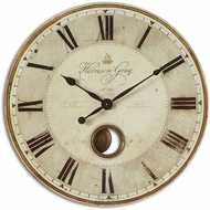 Uttermost 06033 Harrison Gray 30  Vintage Clock