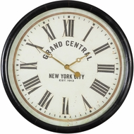 Uttermost 06098 Leonor Vintage Grand Central Wall Clock