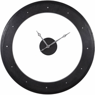 Uttermost 06101 Ramon Modern Rich Ebony Stain Wall Clock