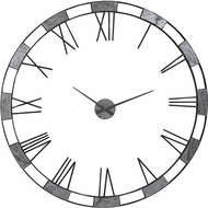 Uttermost 06460 Alistair Modern Gunmetal Wall Clock