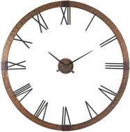 Uttermost 06655 Amarion Retro 60  Copper Wall Clock