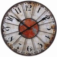 Uttermost 06664 Ellsworth Vintage 29  Wall Clock