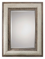 Uttermost 07642 Valier 50 Inch Tall Woven Natural Rope Wall Mirror