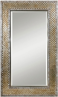 Uttermost 07698 Mondego Brushed Nickel Wall Mounted Mirror