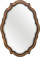 Uttermost 08155 Talicia Aged Wood Wall Mirror