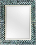 Uttermost 08157 Makaria Tropical Blue Wall Mounted Mirror