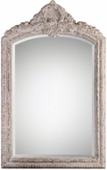 Uttermost 09121 Charente Aged Ivory Arch Wall Mounted Mirror