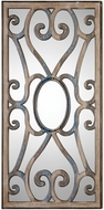 Uttermost 09138 Rosalind Carved Wooden Frame Wall Mounted Mirror