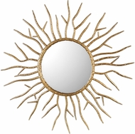 Uttermost 09187 Astor Contemporary Gold Starburst Wall Mounted Mirror