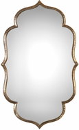 Uttermost 09206 Zina Lightly Antiqued Metallic Gold Gold Wall Mirror