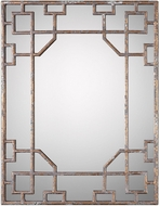 Uttermost 09207 Genji Burnished Gold Leaf Wall Mounted Mirror