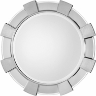 Uttermost 09228 Danlin Lightly Antiqued Silver Leaf Wall Mounted Mirror