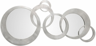 Uttermost 09303 Odiana Contemporary Silver Rings Modern Wall Mirror