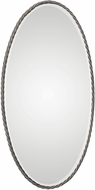 Uttermost 09315 Kateel Twisted Iron Oval Mirror