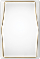 Uttermost 09323 Colleen Modern Gloss White Wall Mirror
