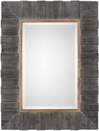 Uttermost 09329 Mancos Rustic Wood Wall Mirror