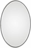 Uttermost 09343 Giana Oval Silver Mirror
