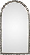 Uttermost 09374 Sherise Arch Plated Brushed Nickel Wall Mounted Mirror