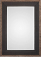 Uttermost 09377 Staveley Rustic Black Wall Mirror