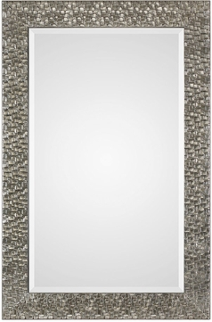 Uttermost 09380 Kanuti Metallic Gray Wall Mirror
