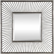 Uttermost 09391 Anji Silver Wall Mounted Mirror