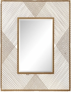 Uttermost 09427 Bavol Metallic Gold Mirror