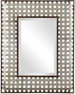 Uttermost 09428 Fabelle Galvanized Metal Wall Mirror