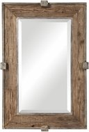Uttermost 09433 Siringo Weathered Wood Mirror