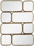 Uttermost 09437 Canute Contemporary Modern Gold Mirror