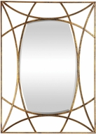 Uttermost 09438 Abreona Modern Metallic Gold Wall Mirror