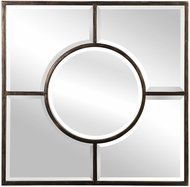 Uttermost 09445 Baeden Forged Iron Wall Mirror