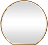 Uttermost 09446 Cabell Modern Gold Wall Mounted Mirror