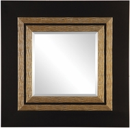 Uttermost 09448 Faisal Square Black Wall Mirror