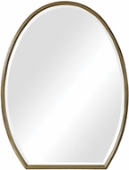 Uttermost 09467 Kenzo Hand Applied Gold Leaf Wall Mirror
