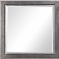Uttermost 09472 Moore Wrapped Tarnished Silver Wall Mounted Mirror