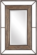Uttermost 09481 Ward Dark Rust Bronze Wall Mounted Mirror