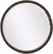 Uttermost 09483 Islay Aged Dark Oak Stain Wall Mirror