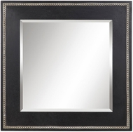 Uttermost 09531 Lollis Aged Black Wall Mounted Mirror