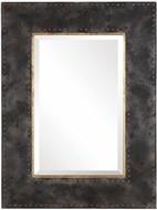 Uttermost 09543 Amparo Heavily Oxidized Steel Gray Mirror