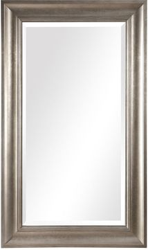 Uttermost 09546 Palia Warm Silver Leaf 71.25  Tall Wall Mirror