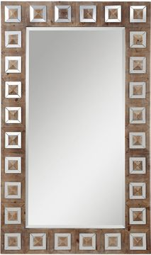 Uttermost 09559 Anara Wood Wall Mirror