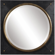 Uttermost 09560 Tobiah Square Wall Mounted Mirror