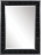 Uttermost 09562 Lonara Black Tile Wall Mounted Mirror
