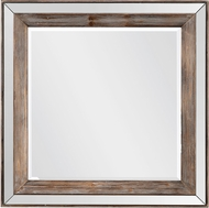 Uttermost 09565 Pike Square Wall Mounted Mirror