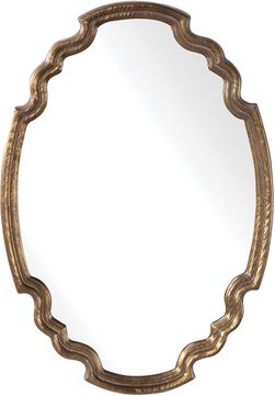 Uttermost 09584 Ariane Oval Wall Mounted Mirror