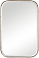 Uttermost 09599 Malay Bamboo / Antique Gold Leaf Wall Mounted Mirror