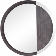 Uttermost 09601 Tajitu Modern Solid Fir Wood / Dark Walnut Mounted Mirror