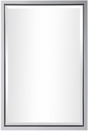 Uttermost 09604 Barnaby Clean Gloss White Mounted Mirror