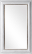 Uttermost 09609 Piper Wooden / Distressed White Wall Mirror